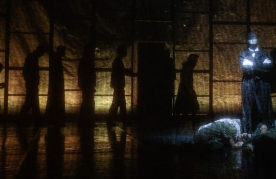 LOTTATORI  Sguardi Sollevano Vento – 20 dicembre 2017, Teatro Franco Parenti – Milano